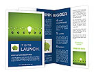 Green Light Lamp Brochure Templates