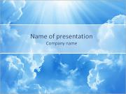 Light In The Sky PowerPoint Templates