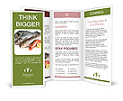 Fresh Fish Brochure Templates