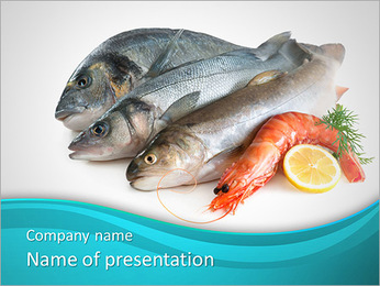 Fresh Fish PowerPoint Template