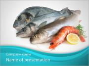 Fresh Fish PowerPoint presentationsmallar