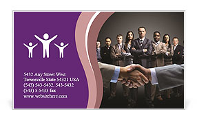 Business Negotiations Business Card Templates