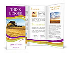 Harvesting Machine Brochure Templates