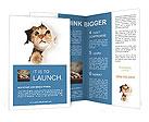 Cat Hides Brochure Templates