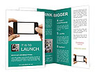 Touch Screen Cell Phone Brochure Templates