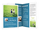Two Small Friends Brochure Templates