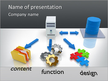 Web Content PowerPoint Template