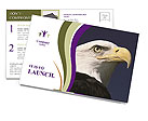Eagle Postcard Template