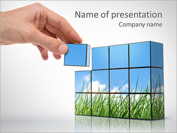 Green Concept PowerPoint Template