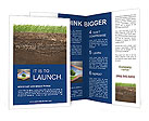 Grass And Soil Brochure Templates