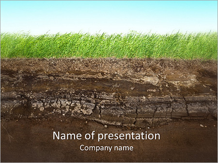 Grass and soil powerpoint template backgrounds id 0000004481 grass and soil powerpoint templates toneelgroepblik Images