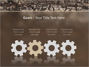 Herbe et le sol Modèles des présentations  PowerPoint - Diapositives 28