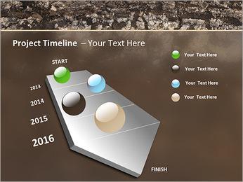 Herbe et le sol Modèles des présentations  PowerPoint - Diapositives 6