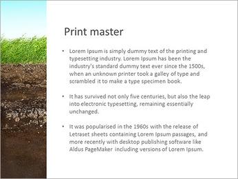 Herbe et le sol Modèles des présentations  PowerPoint - Diapositives 76