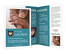 Mama Holds Baby's Hand Brochure Templates