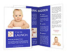 Surprised Baby Brochure Templates