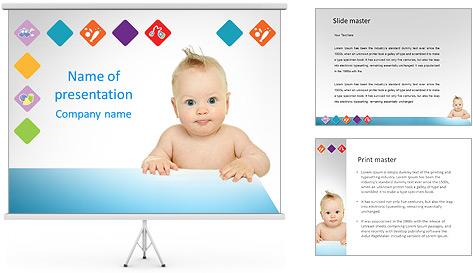 Шаблоны для детских презентаций с днем рождения