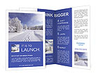 Winter Scenery Brochure Templates