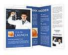 Man In Lab Brochure Templates