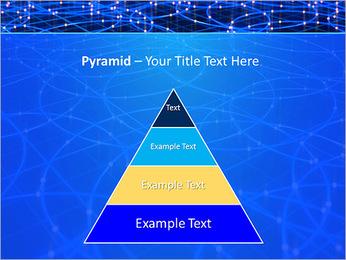 Les cercles bleus d'éclairage Modèles des présentations  PowerPoint - Diapositives 10
