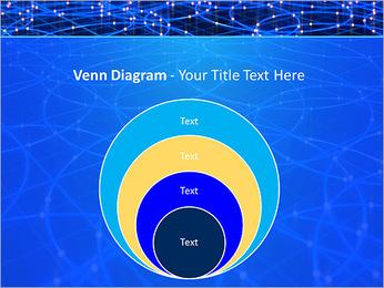 Les cercles bleus d'éclairage Modèles des présentations  PowerPoint - Diapositives 14