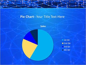 Les cercles bleus d'éclairage Modèles des présentations  PowerPoint - Diapositives 16