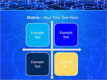 Les cercles bleus d'éclairage Modèles des présentations  PowerPoint - Diapositives 17