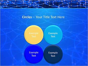 Les cercles bleus d'éclairage Modèles des présentations  PowerPoint - Diapositives 18