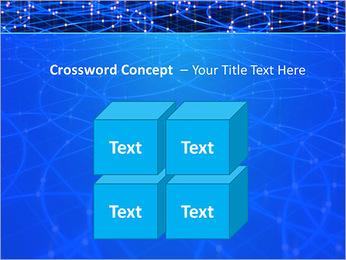 Les cercles bleus d'éclairage Modèles des présentations  PowerPoint - Diapositives 19