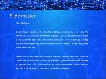 Les cercles bleus d'éclairage Modèles des présentations  PowerPoint - Diapositives 2