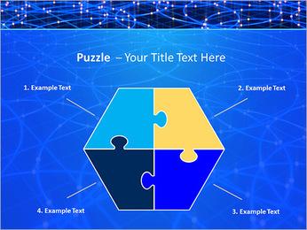 Les cercles bleus d'éclairage Modèles des présentations  PowerPoint - Diapositives 20