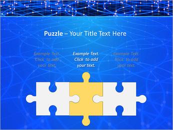 Les cercles bleus d'éclairage Modèles des présentations  PowerPoint - Diapositives 22