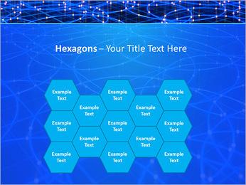 Les cercles bleus d'éclairage Modèles des présentations  PowerPoint - Diapositives 24