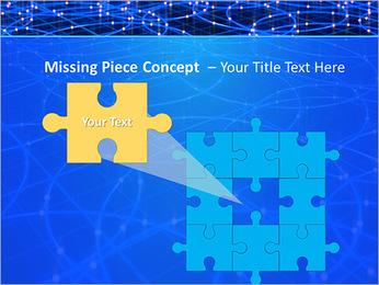 Les cercles bleus d'éclairage Modèles des présentations  PowerPoint - Diapositives 25