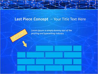 Les cercles bleus d'éclairage Modèles des présentations  PowerPoint - Diapositives 26