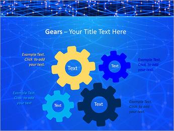 Les cercles bleus d'éclairage Modèles des présentations  PowerPoint - Diapositives 27