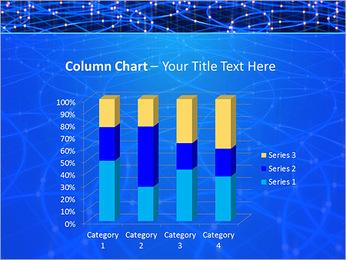 Les cercles bleus d'éclairage Modèles des présentations  PowerPoint - Diapositives 30