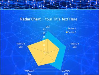 Les cercles bleus d'éclairage Modèles des présentations  PowerPoint - Diapositives 31