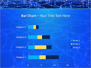 Les cercles bleus d'éclairage Modèles des présentations  PowerPoint - Diapositives 32