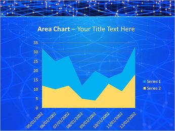 Les cercles bleus d'éclairage Modèles des présentations  PowerPoint - Diapositives 33