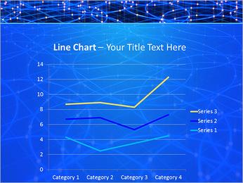 Les cercles bleus d'éclairage Modèles des présentations  PowerPoint - Diapositives 34