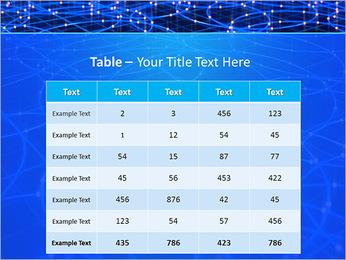 Les cercles bleus d'éclairage Modèles des présentations  PowerPoint - Diapositives 35