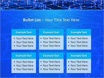 Les cercles bleus d'éclairage Modèles des présentations  PowerPoint - Diapositives 36