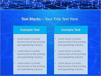 Les cercles bleus d'éclairage Modèles des présentations  PowerPoint - Diapositives 37