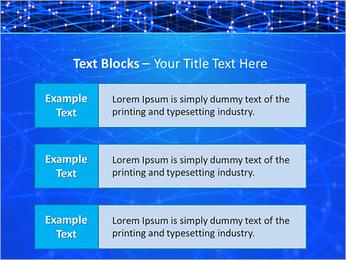 Les cercles bleus d'éclairage Modèles des présentations  PowerPoint - Diapositives 38