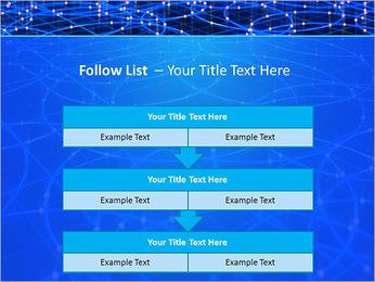 Les cercles bleus d'éclairage Modèles des présentations  PowerPoint - Diapositives 40