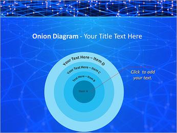 Les cercles bleus d'éclairage Modèles des présentations  PowerPoint - Diapositives 41