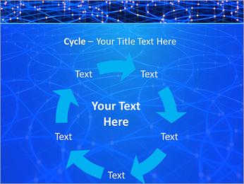 Les cercles bleus d'éclairage Modèles des présentations  PowerPoint - Diapositives 42