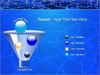 Les cercles bleus d'éclairage Modèles des présentations  PowerPoint - Diapositives 43