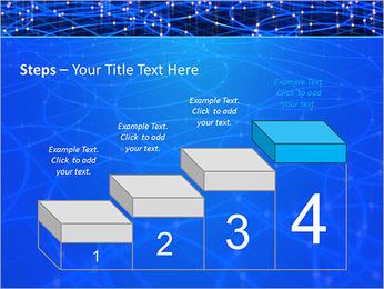 Les cercles bleus d'éclairage Modèles des présentations  PowerPoint - Diapositives 44